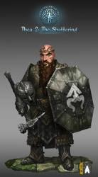 Thea2  Dwarf Warrior ( portrait)