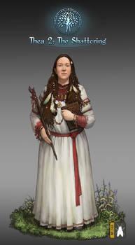 Female Priest Mage  Slav  Low Real Portrait