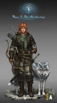 Ranger Female W Wolf Low