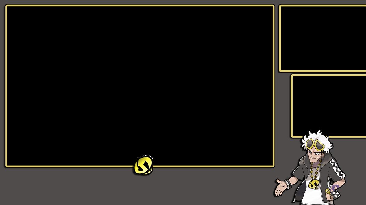 Team Skull Guzma Pokemon Stream Overlay for 3DS by NextPhaseDesign