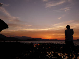 Hunting Sunset by banditperantau