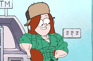 Wendy's Chillin Out (Female Muscle Edit) by Ducklover4072