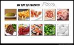 My Top 10 Favorite Foods