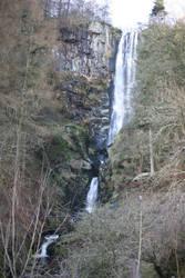 llanrhaeader waterfalls by pdjbarber