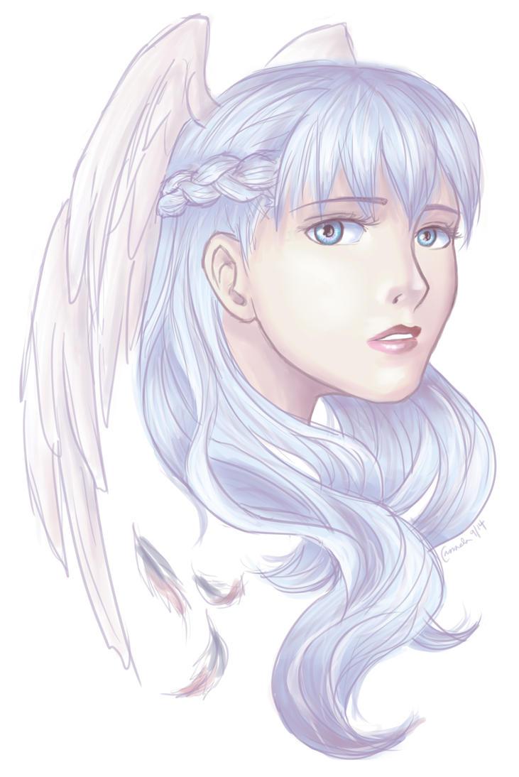 XC: Melia, hair down 2 by Cassandra-Borealis