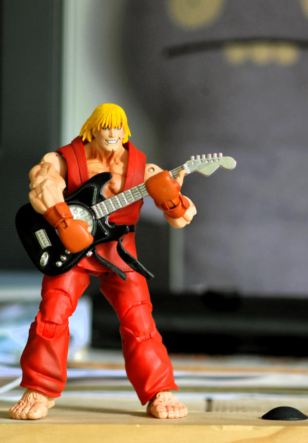 Ken masters the guitar XD by DeathByDesign06