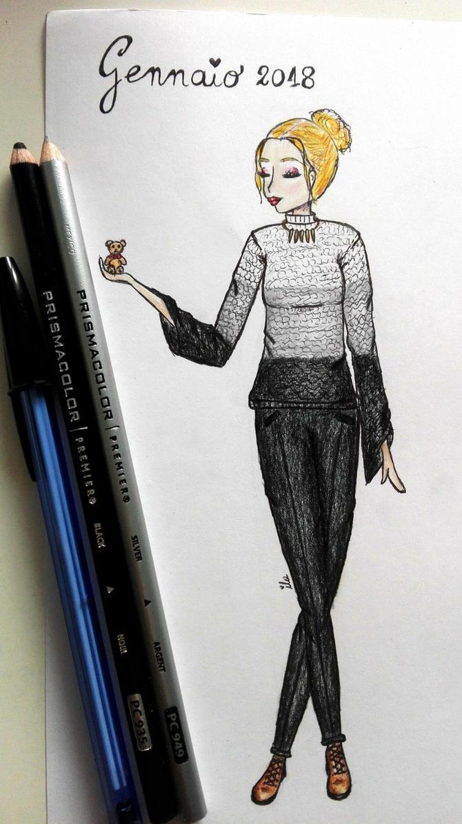 Month's fashion: January 2018 by ila297