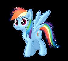 Rainbow Dash by MirrorCrescent