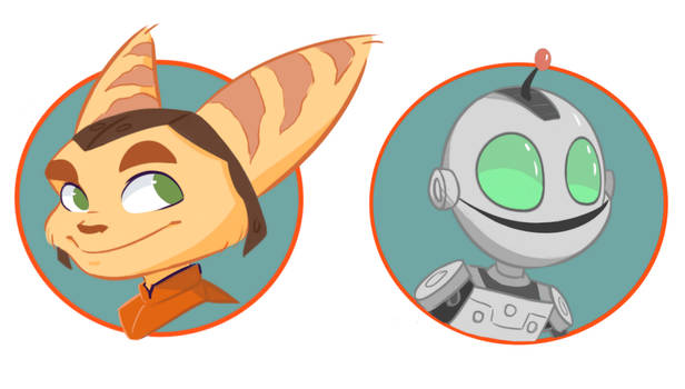 Ratchet and Clank / Pin Designs