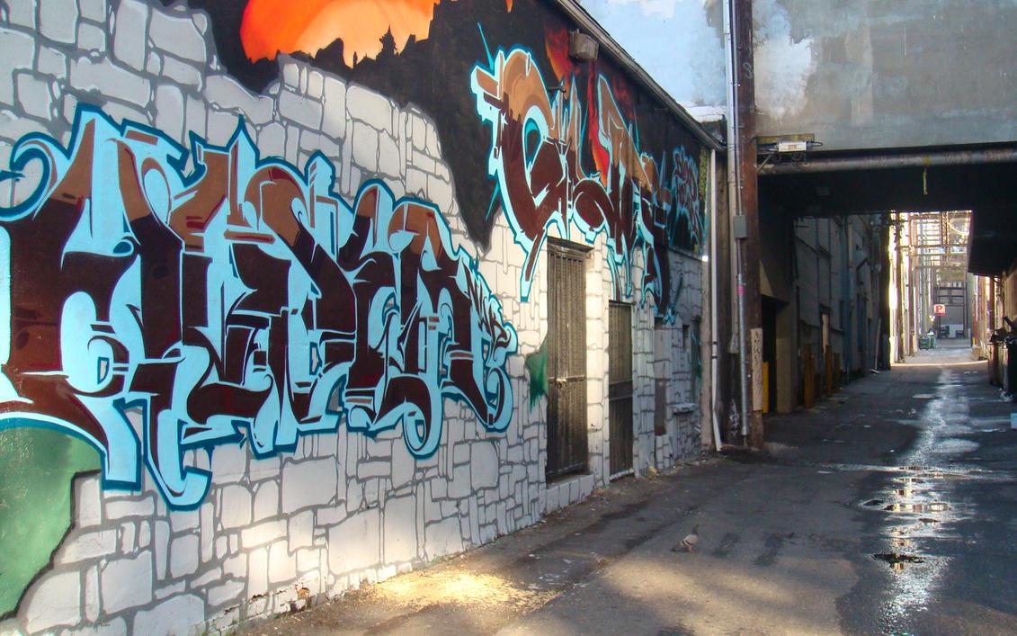 Alley - 1920x1200Wallpaper by d3c0d3r