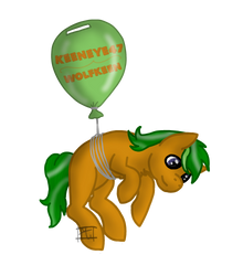 Wolfkeen/Keeneye47 Balloon Badge [Commission] by Mahari-The-Dragon