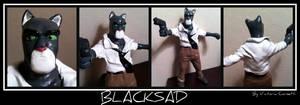 Blacksad sculpt