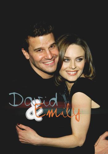 David Boreanaz And Emily Deschanel Wallpaper David Boreanaz and Emi...