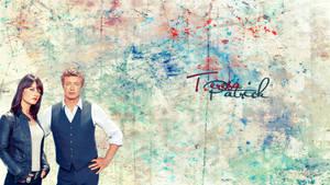 Jane and Lisbon Wallpaper (The Mentalist)