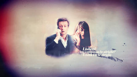 Jane and Lisbon Wallpaper (The Mentalist) by chiaratippy