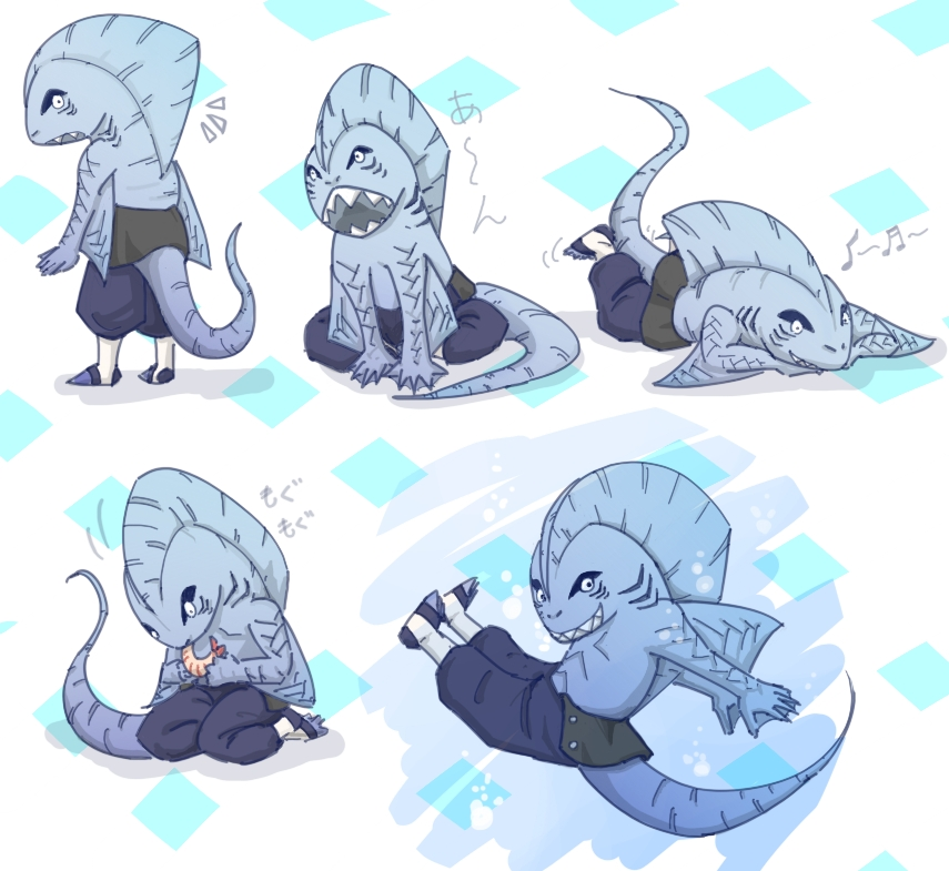 mini shark kisame by bbpuyo on DeviantArt