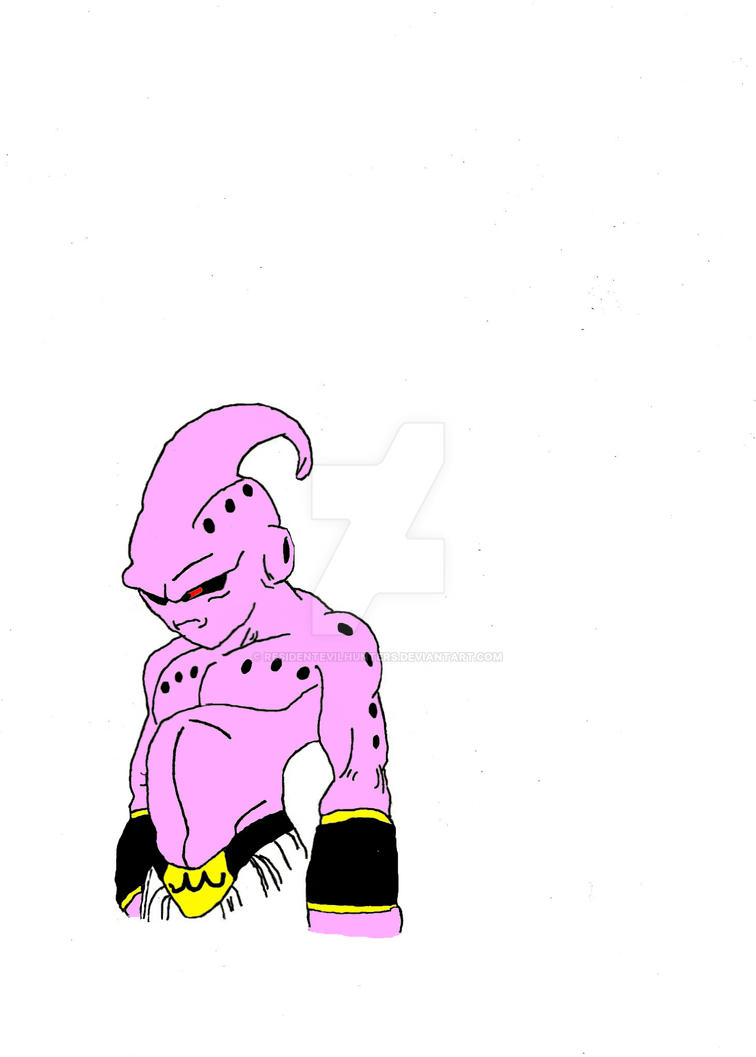 Kid Buu by ResidentEvilhunters
