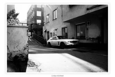 70's Jensen Interceptor by Alan-Eichfeld