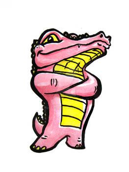 Smug Croc