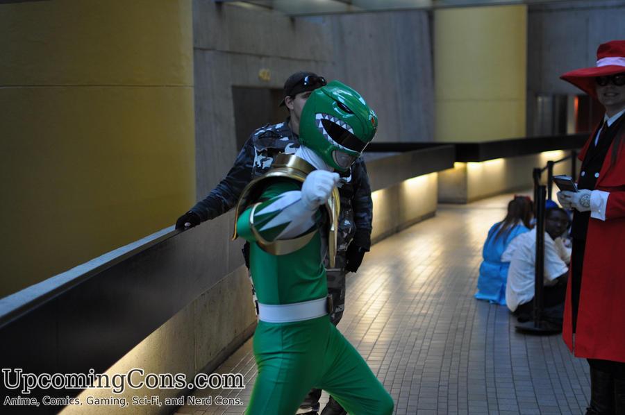 green ranger youmacon 2012 on upcomingcons com by upcomingcons on