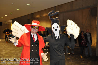 Alucard and Death at Youmacon 2012 by upcomingcons