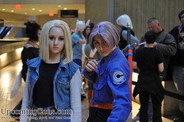 DBZ Androids at Youmacon 2012 by upcomingcons