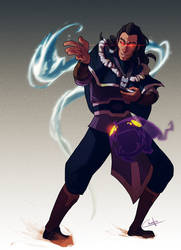 The Dark Avatar by Ctreuse109