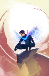 Nightwing by Ctreuse109