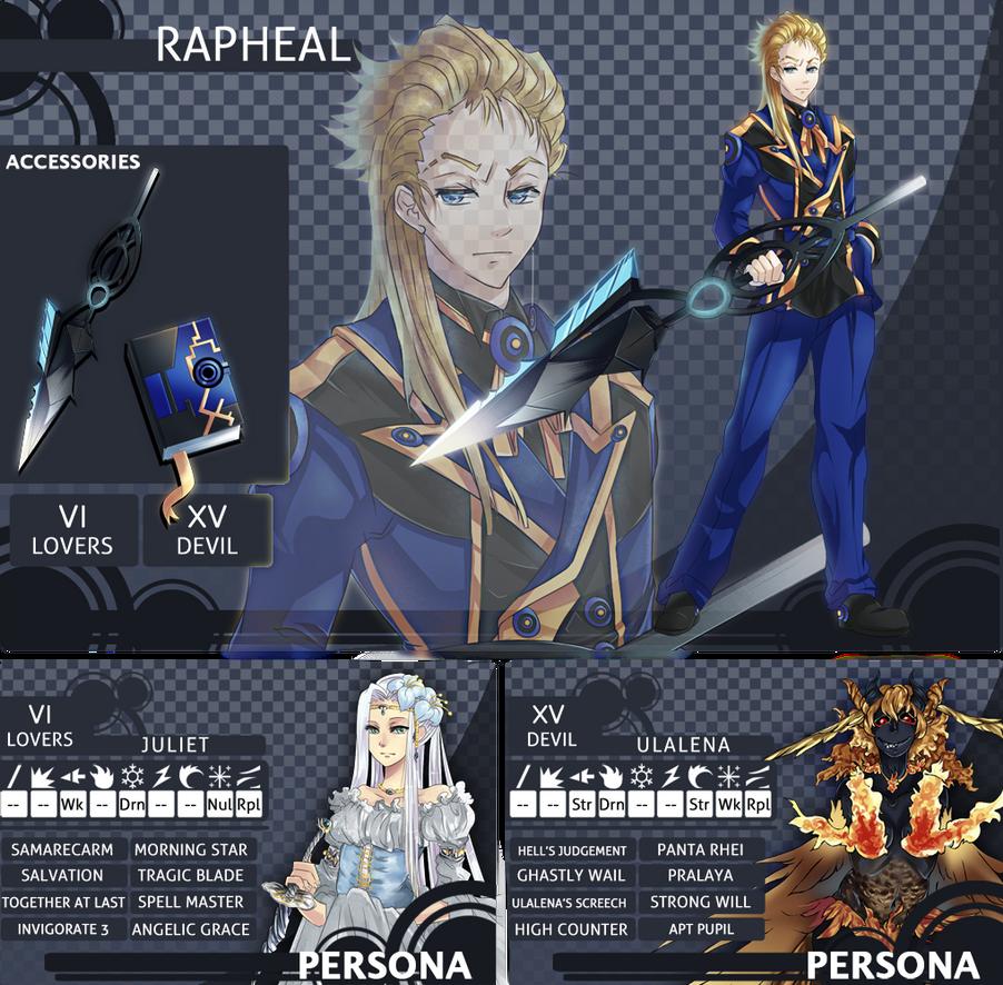 Rapheal's avatar app by MistiousStar