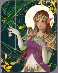 Zelda Shimmering Wish for Child's Play Charity by MistiousStar