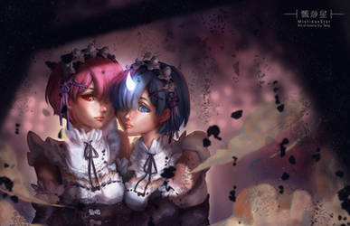 Re Zero Rem and Ram