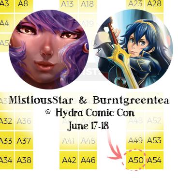 HydraComicConPromo by MistiousStar