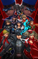 Persona 5 All In by MistiousStar