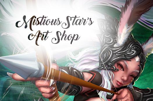 Art Shop banner by MistiousStar