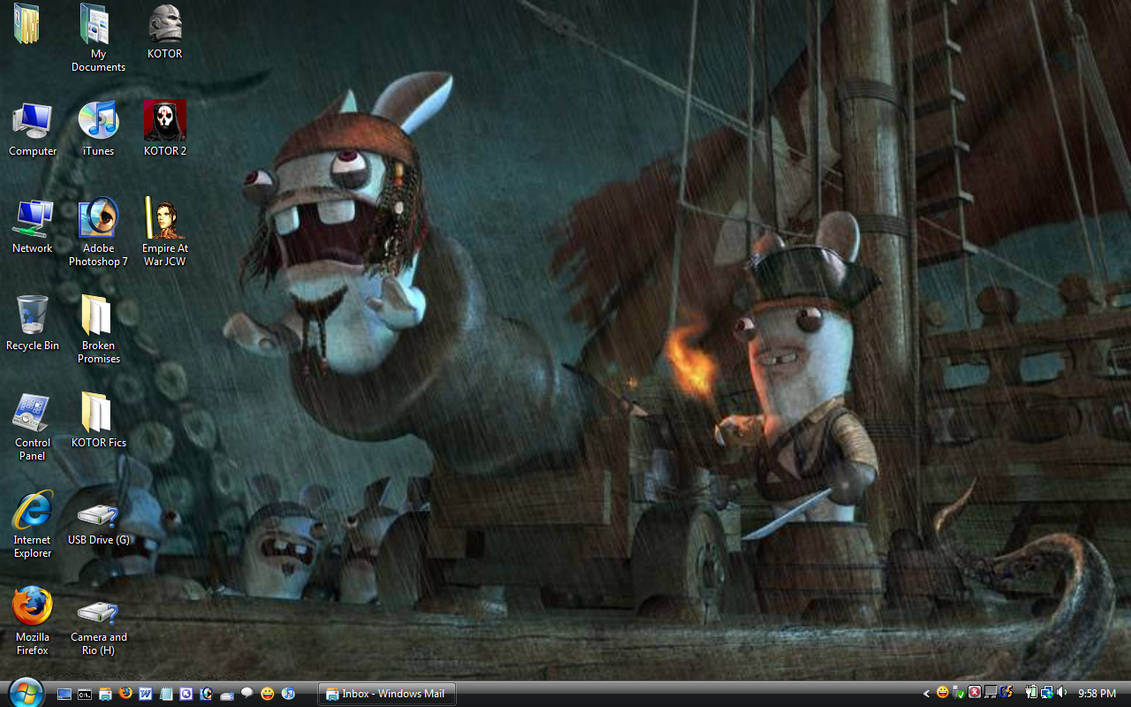 Bunnies Love Being Pirates