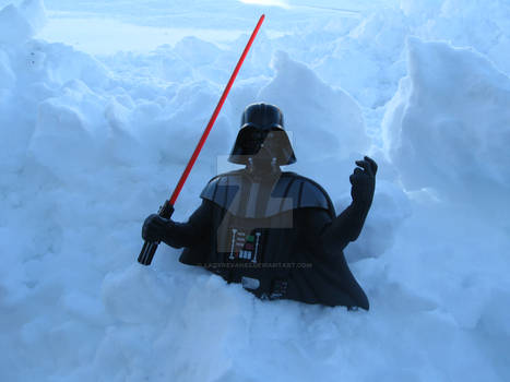 Vader in the Snow