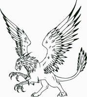 Pouncing Griffon by SeaAngel2133