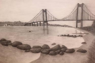 Drawn Realistic Bridge by rake0062