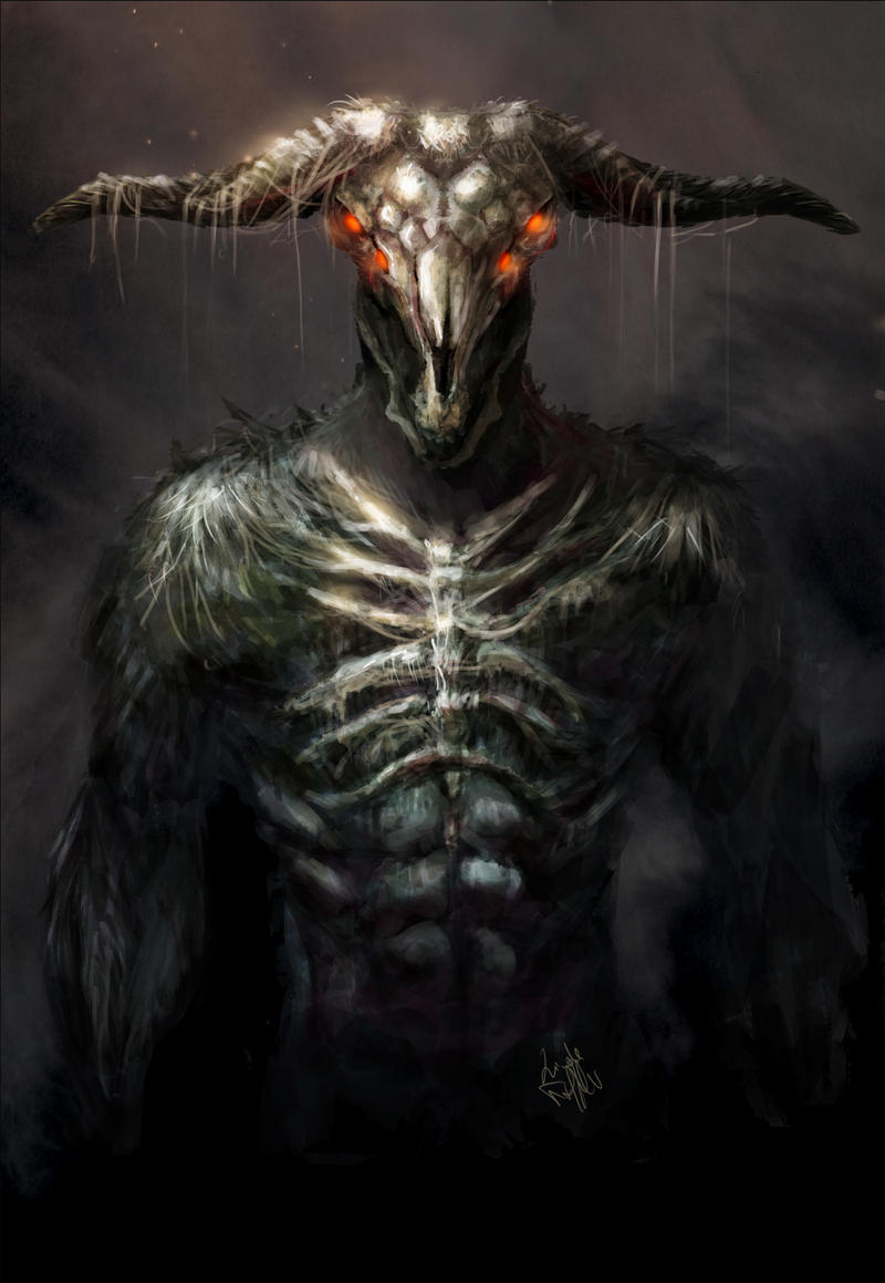 Capra Demon By Enigmasystem On Deviantart