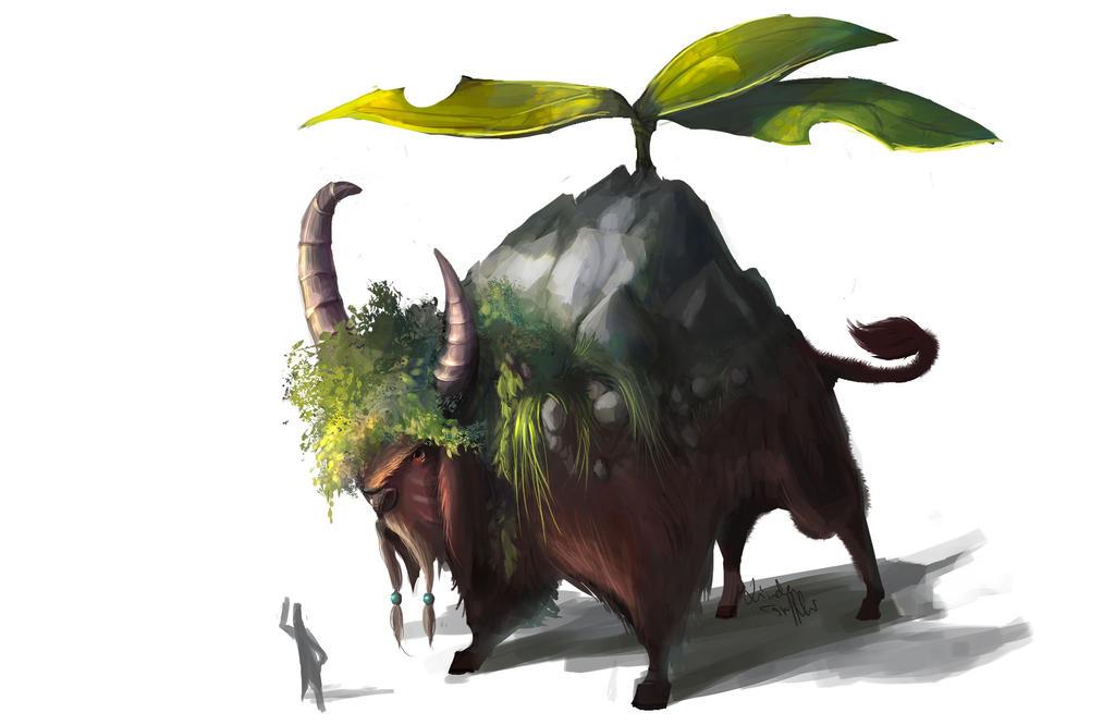 Bison by Enigmasystem