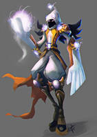 Whitemage by Enigmasystem