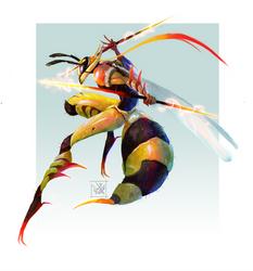 Wasp Warrior by Enigmasystem