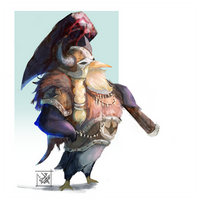 Penguin Viking by Enigmasystem