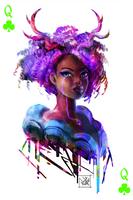 Violet Queen by Enigmasystem