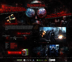 Resident Evil: Operation Raccoon City - Website