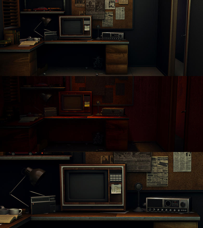 iPhone 6 Game (based on Five Nights at Freddy's) by K3nzuS