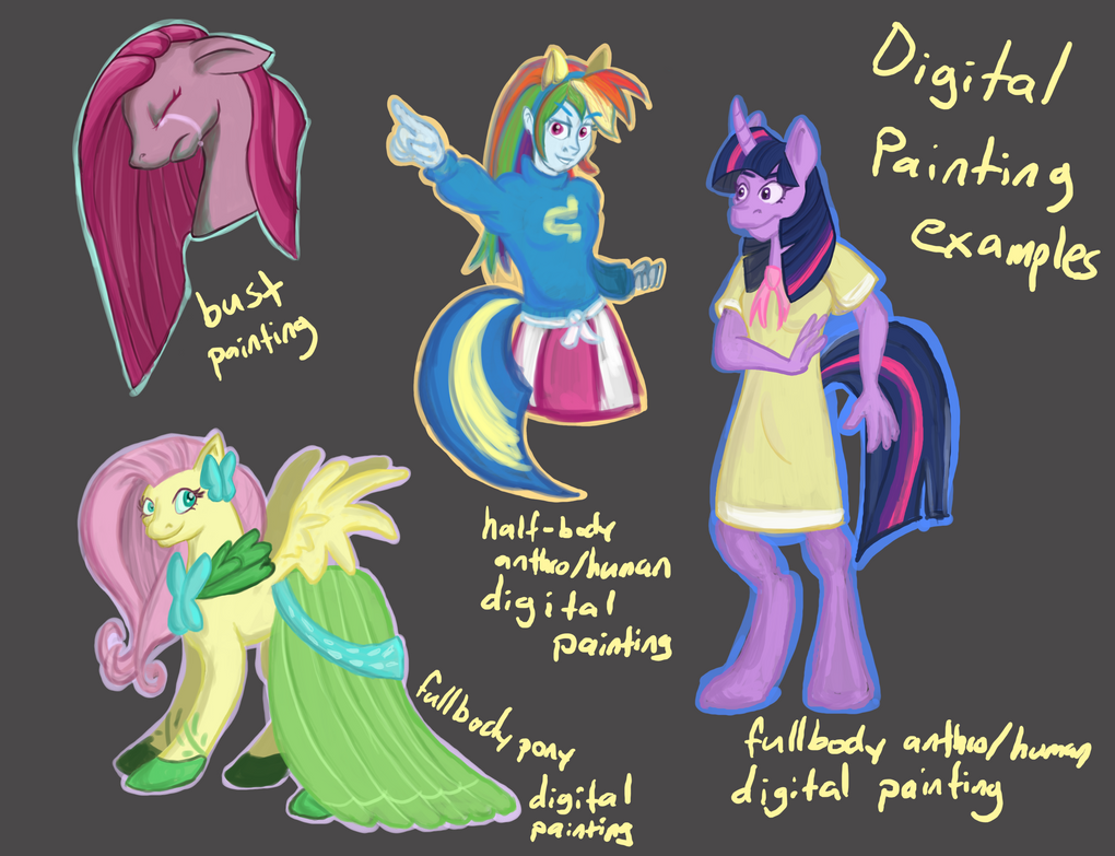 MLP Painting- Princess of the Night by Coraline15 on DeviantArt