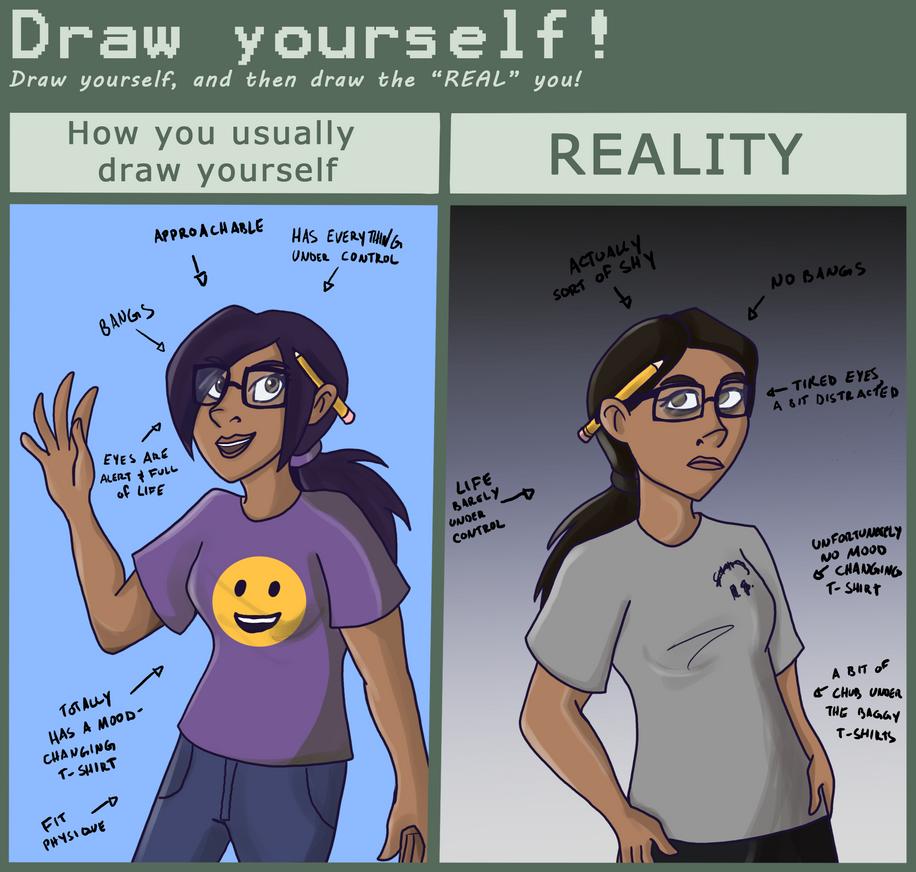Draw Yourself by Jopale-Opal