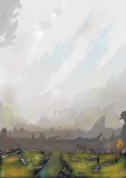 Crash site by dlshadowwolf