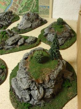 Impassible terrain